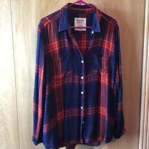 Mossimo flannel shirt